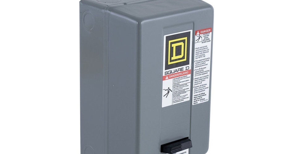 208-240 V 50 AMP Square D 8911 Series Magnetic Starter