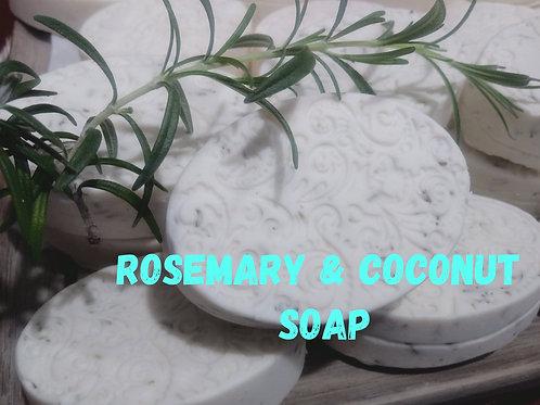 Coconut & Rosemary Face Soap