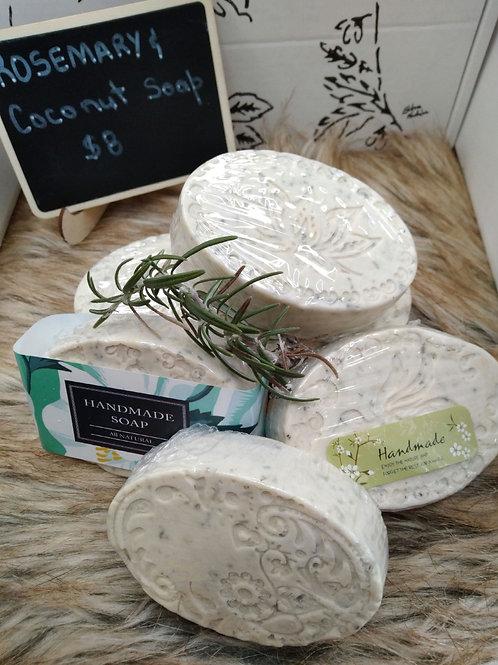 Rosemary & Coconut Face Soap