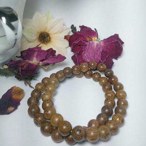 Radial Wooden Bracelet