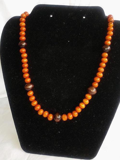 Wearable Caramel & Coffee Necklace