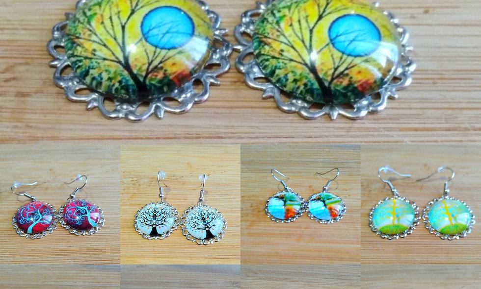'Tree of Life' Charm Earrings