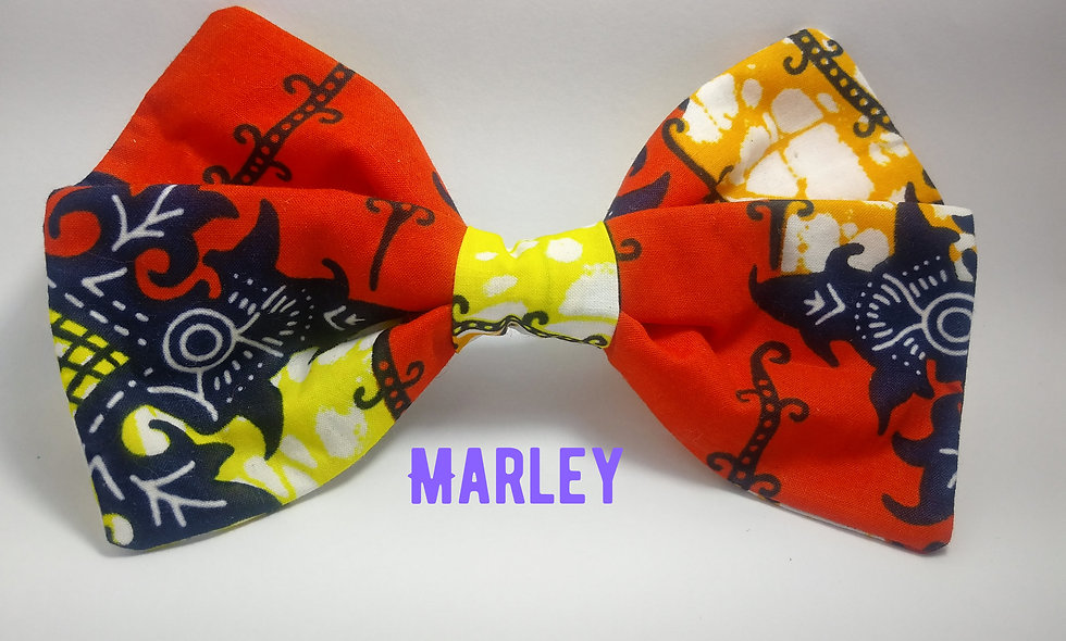 Marley Bow (Blue ,Yellow& Orange)