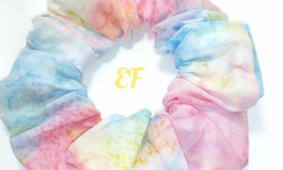 Rainbow Tie Dye Scrunchie