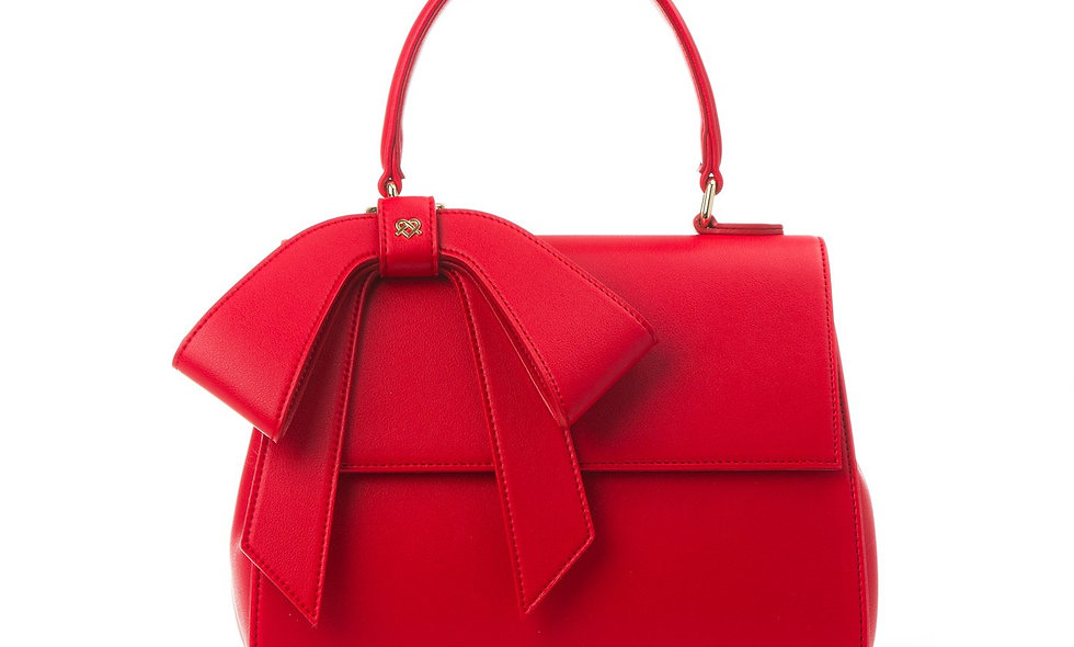 Cottontail - Red Vegan Leather Bag