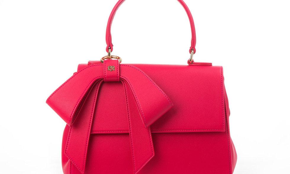 Cottontail - Raspberry Pink Vegan Leather Bag