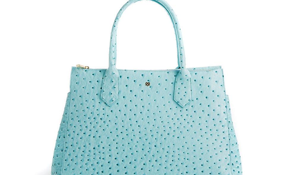 Koko - Light Blue Vegan Workbag