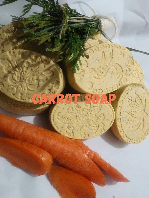 Carrot Face Soap