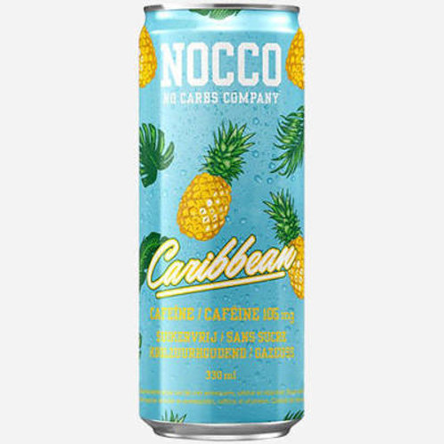 NOCCO Caribbean crate of 24 cans.