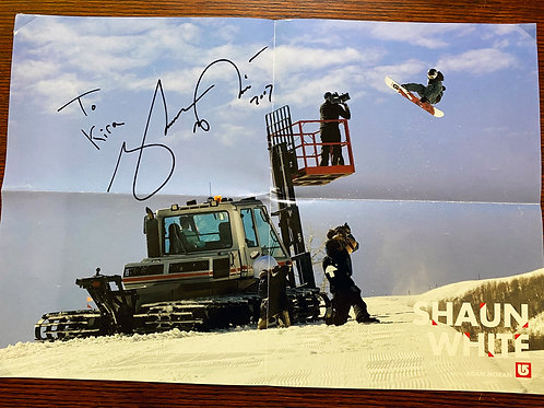 Shaun White Poster- Burton Snowboarder