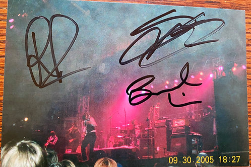 Panic! At the Disco 1st Tour 2005 Photograph in Chicago with Fall Out Boy