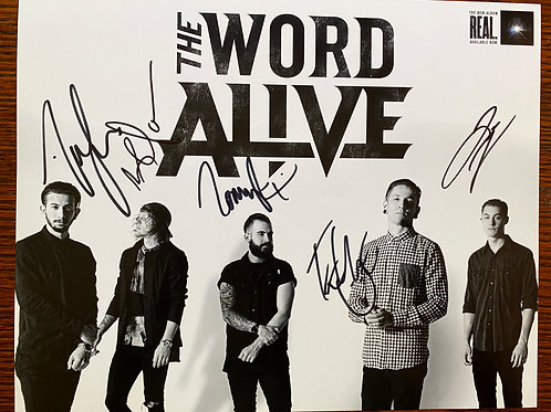 The Word Alive Poster from Vans Warped Tour
