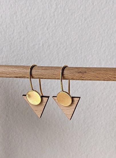 Boucles d'oreilles * Triangles *