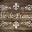 Ile de France French vintage Shabby Chic Mylar Stencil