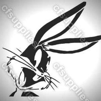 Bugs Bunny Mylar Stencil