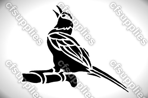 Bird collection of mylar stencils 125/190 micron in A5/A4/A3 sizes (B6)