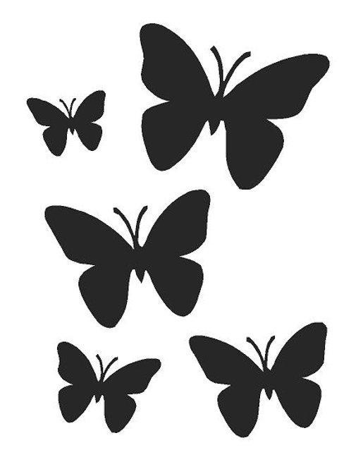 Butterflies  Mylar Stencil sheet