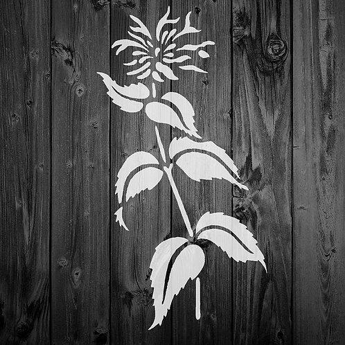 Flower Mylar Stencil 125/190 micron in A5/A4/A3 sizes (F16)