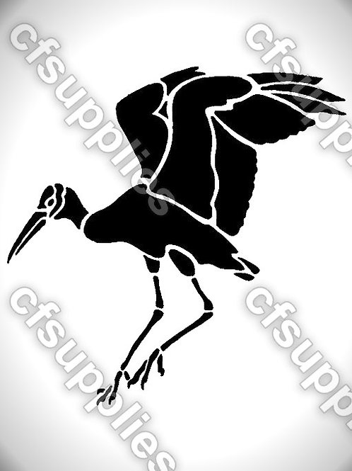 Bird collection of mylar stencils 125/190 micron in A5/A4/A3 sizes (B25)