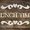 Lunch Time French vintage Shabby Chic Mylar Stencil
