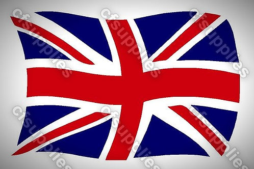 Union Jack Mylar Stencil Sheet