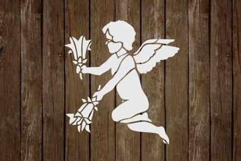 Cherub Fairy Fantasy Mylar Stencil