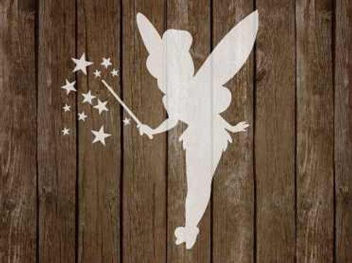 Tinkerbell Fairy Fantasy Mylar Stencil
