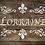 Lorraine French Vintage Shabby Chic mylar stencil