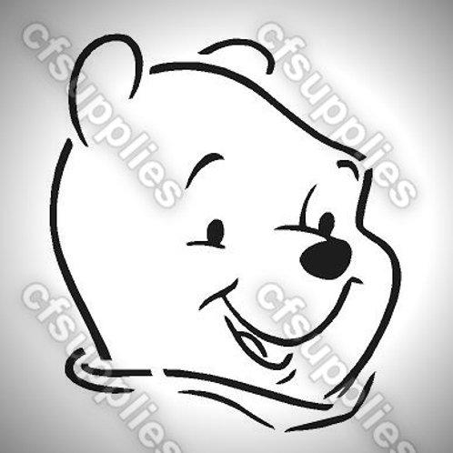 Winnie the Pooh Mylar Stencil Sheet