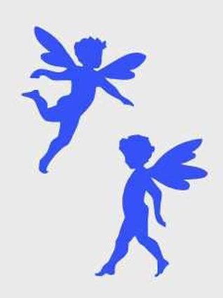 Fairy Fantasy Mylar Stencil