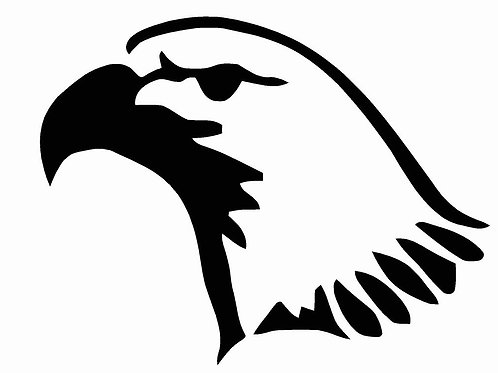 Eagle Head mylar stencil 125/190 micron in A5/A4/A3 sizes (1)