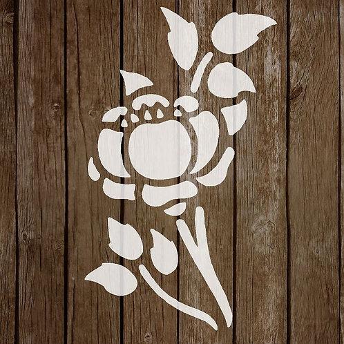 Flower Mylar Stencil 125/190 micron in A5/A4/A3 sizes (F19)