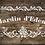 Jardin d'Eden Shabby Chic French Vintage Mylar Stencil