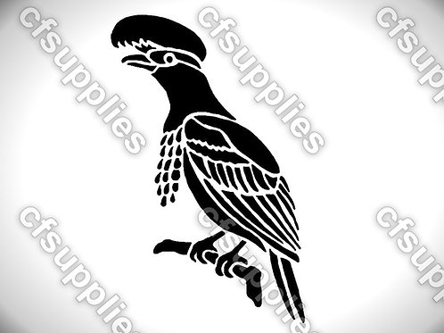 Bird collection of mylar stencils 125/190 micron in A5/A4/A3 sizes (B4)