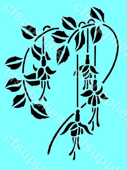 Flower Mylar Stencil 125/190 micron in A5/A4/A3 sizes (F25)