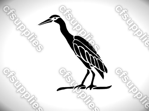 Bird collection of mylar stencils 125/190 micron in A5/A4/A3 sizes (B3)