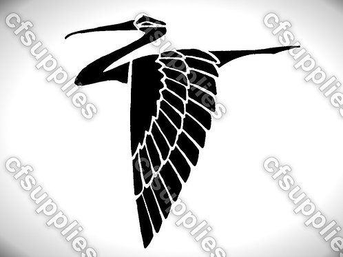 Bird collection of mylar stencils 125/190 micron in A5/A4/A3 sizes (B26)