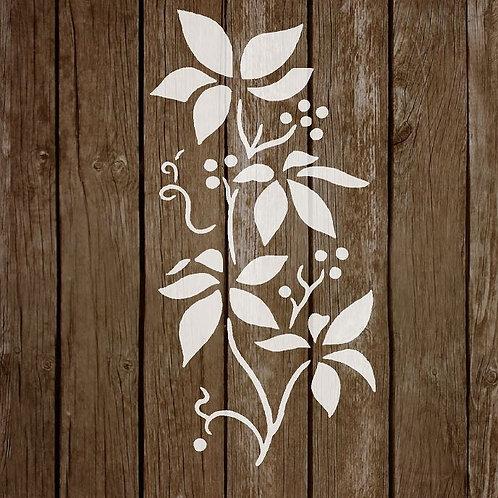 Flower Mylar Stencil 125/190 micron in A5/A4/A3 sizes (F18)