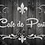 Cafe de Paris Shabby Chic French Vintage Mylar Stencil