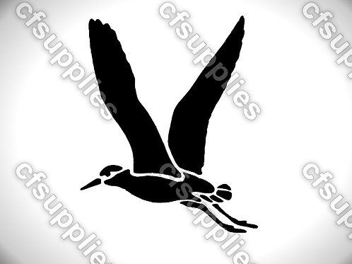 Bird collection of mylar stencils 125/190 micron in A5/A4/A3 sizes (B24)