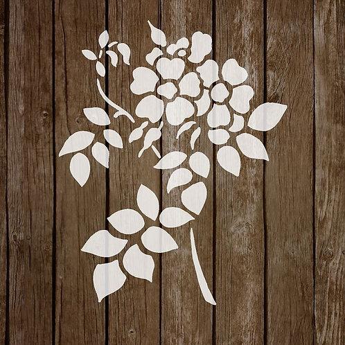 Flower Mylar Stencil 125/190 micron in A5/A4/A3 sizes (F13)