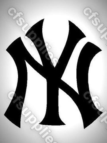 New York Logo Mylar Stencil Sheet