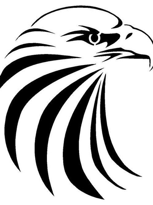 Eagle Head mylar stencil 125/190 micron in A5/A4/A3 sizes (2)