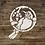 Shabby Chic mylar stencil