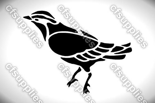 Bird collection of mylar stencils 125/190 micron in A5/A4/A3 sizes (B5)