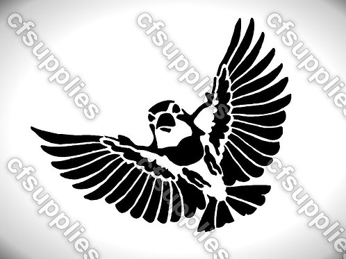 Bird collection of mylar stencils 125/190 micron in A5/A4/A3 sizes (B19)