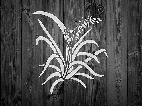 Flower Mylar Stencil 125/190 micron in A5/A4/A3 sizes (F6)