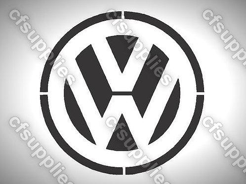 VW Mylar Stencil Sheet