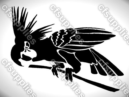 Bird collection of mylar stencils 125/190 micron in A5/A4/A3 sizes (B1)