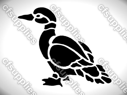 Bird collection of mylar stencils 125/190 micron in A5/A4/A3 sizes (B15)